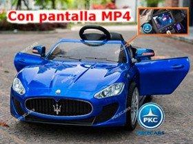 Maserati Alfieri Azul con MP4 12V