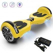 Mega Motion Hoverboard E1-6.5″ Eléctrico Segway – Bluetooth – Seguridad UL – CE