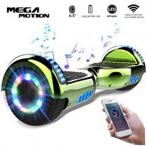 Mega Motion Monopatín Eléctrico E1-6.5″ Eléctrico Segway – Bluetooth verde