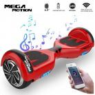 Mega Motion Monopatín Eléctrico E1-6.5″ Eléctrico Segway – Bluetooth rojo