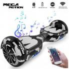 Mega Motion Monopatín Eléctrico E1-6.5″ Eléctrico Segway – Bluetooth – amygreen
