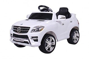 moleo Coche infantil Mercedes-Benz ML con 2 motores