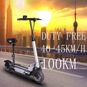 Más de 100km Scooter Eléctrico adulto con asiento 48v 500w hoverboard plegable...