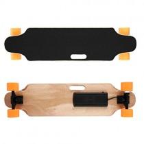 Mymotto RF 2.4 G – Skateboard eléctrico, 20 – 25 km/h, longboard naranja