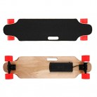 Mymotto RF 2.4 G – Skateboard longboard eléctrico rojo