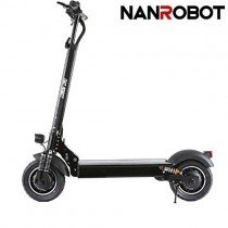 NANROBOT D4 + 2000 W Patinete eléctrico Ligero Plegable