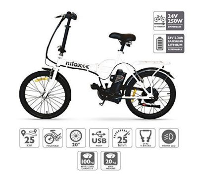 Nilox E Bike 24 V 14 P-X1