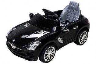 Niños Coche eléctrico Mercedes Con licencia SLS AMG