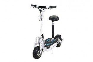 Patinete eléctrico, E-Scooter , eFlux Freeride con 48 Volt 1000 Watios blanco