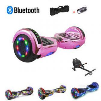 Patinete eléctrico Hoverboard con rueda de equilibrio inteligente de 6,5 pulgadas patinete...