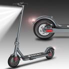 Patinete Eléctrico Plegable Scooter, Ruedas 8″ Macizas, Velocidad 25 Km/h