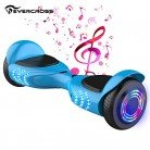 Patinete Electrico Autoequilibrio Flash Rueda con Altavoz Bluetooth Evercross
