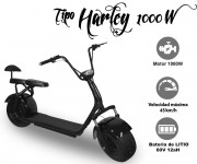 PATINETE ELÉCTRICO HARLEY – 2 PLAZAS