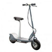 Razor E300s Scooter – Grey – Patinete con silla, color gris