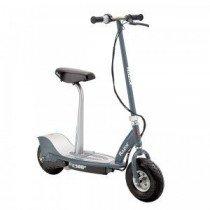 Razor E300s Scooter – Grey – Patinete con silla, color gris
