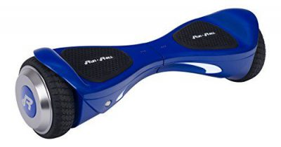 Run & Roll Smart Go Cool Hoverboard eléctrico para Hombre, Azul, 6.5″