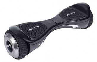Run & Roll Smart Go Cool Hoverboard eléctrico para Hombre, Negro, 6.5″
