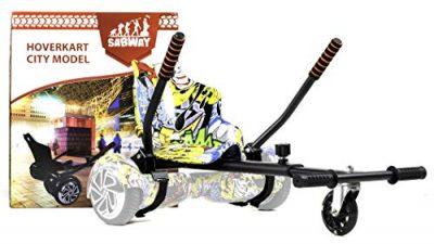 SABWAY Hoverkart Hoverboard – Apto para Niños y Adultos