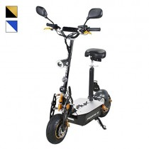 Scooter eléctrico original E-Flux Freeride X2, 2000 W, 60 V