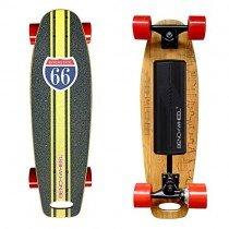 Skate eléctrico de 300 W y ruedas pequeñas de 7 cm