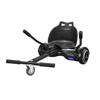 SMARTGYRO Go Kart Pro Black – Asiento Kart para patín eléctrico