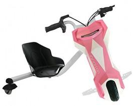 Triciclo ELECTRICO Crazy Bike Sup INFINITON (Velocidad máxima 20km/h) rosa