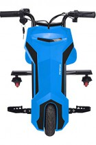Triciclo ELECTRICO Crazy Bike Sup INFINITON (Amortiguacion Trasera, Distancia Regulable, Velocidad máxima 20km/h) azul
