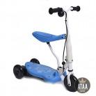 Triciclo Patinete eléctrico para niños Chick batería 6v – Azul