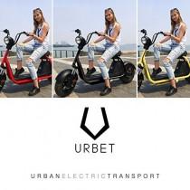 "URBET Moto/Scooter Electrica ""Ibiza"""