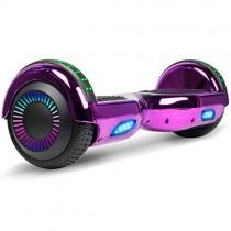 VEVEpower Patinete Eléctrico 6,5″ Hoverboard púrpura
