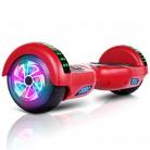 VEVEpower Patinete Eléctrico 6,5″ Hoverboard, Potente batería de Litio 300W*2 rojo