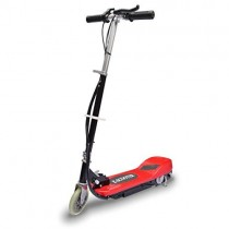 vidaXL Mini patinete eléctrico 120W Rojo