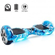 Windgoo Hoverboard 6.5″ Balance Board Patinete Eléctrico Scooter Talla LED, Scooter eléctrico Self-Balance