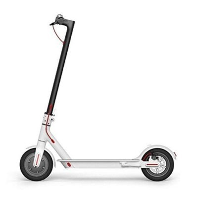 Xiaomi Mi Scooter – Patinete eléctrico Plegable, 30 Km Alcance, 25km/h, Blanco