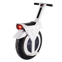 XYDDC Monociclo eléctrico Blanca, Monociclo Vespa con Altavoz Bluetooth, Unisex Adulta, 17 Pulgadas