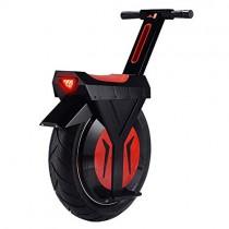 XYDDC Monociclo eléctrico Negro, Monociclo Vespa con Altavoz Bluetooth, Unisex Adulta, 17 Pulgadas