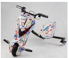 YIAIY Triciclo Eléctrico Drift, Juguete Eléctrico Kart Vespa De Los Niños Fresca 36V