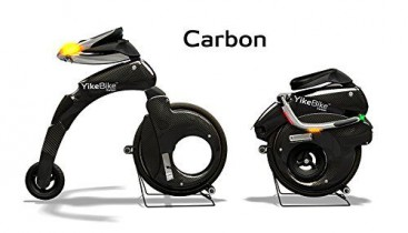 Yikebike Carbon Negro