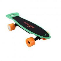 YZ Monopatín eléctrico Longboard Skate, 20 mph de Velocidad máxima